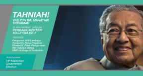 Congratulations to Tun M